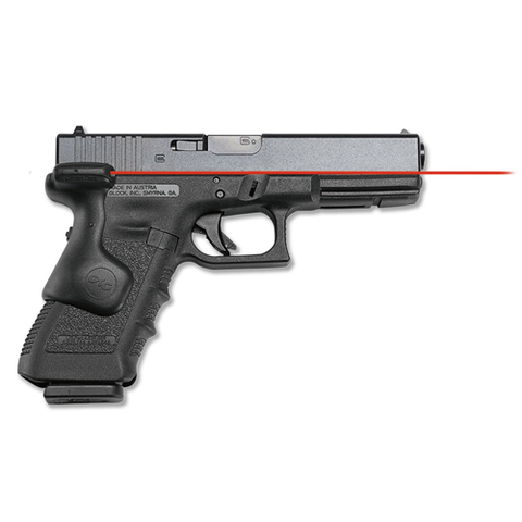 Crimson Trace - Lasergrips Gun Fit: Glock GEN3 17,17L, 22, 31, 34, 35, 37 & GEN4 17,22,31,34,35,37 Laser Color: Red Grip: Black Polymer CTLG-637