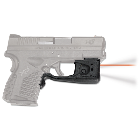 Crimson Trace - Laserguard® Pro  Gun Fit: Smith & Wesson M&P 9/40 Shield Laser Color: Red Option: Blade-Tech Holster CTLL-801-HBT