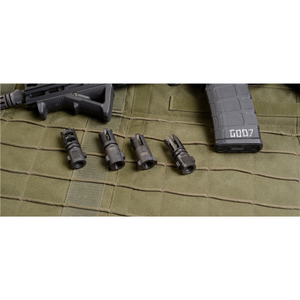 QUICKMOUNT 5.56mm Muzzle Brake, threaded 1/2-28 GT-QM-G5-BR