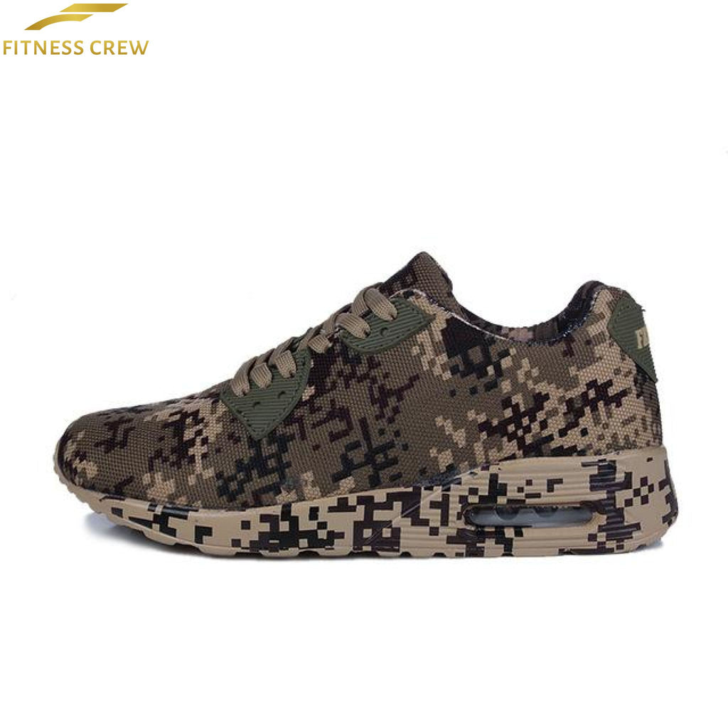 Camouflage Sports Shoes Brown / 4.5