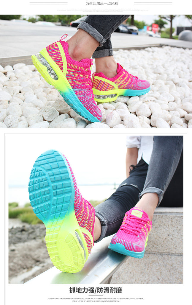 Sport Running Shoes for Woman, Breathable and Comfortables