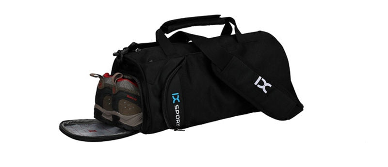 Waterproof Gym Bag For Training or Traveling With Shoes Storage