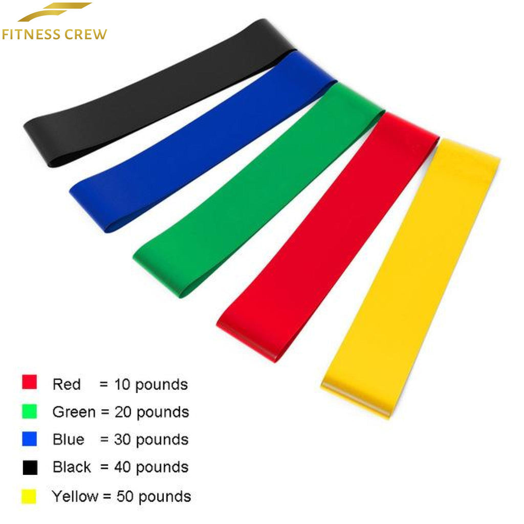 Resistance Loop Bands For Yoga Crossfit And Weight Loss 2018 5