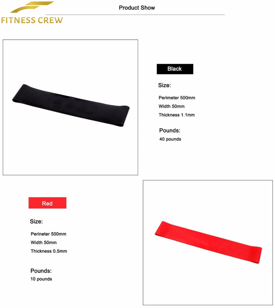 Resistance Loop Bands For Yoga Crossfit And Weight Loss 2018