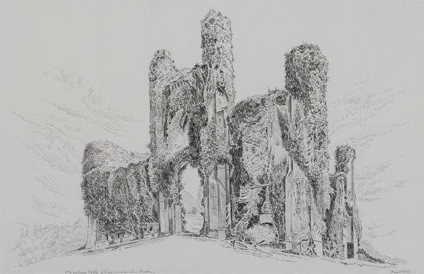 Moydrum Castle, Co. Westmeath (entrance front) by John Nankivell