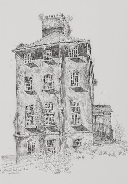 The Deanery, Ardagh, Co. Longford (side elevation) by John Nankivell