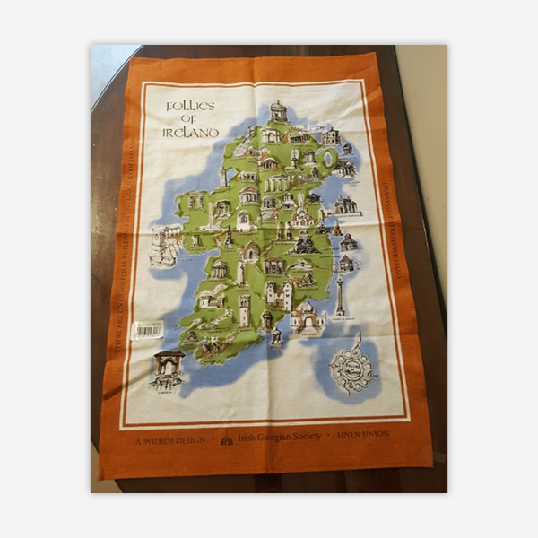 Follies of Ireland tea towels (set of 2)