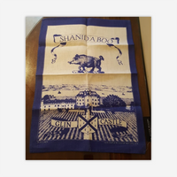 Glin Castle linen tea towel