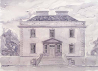 Ledwithstown House, Ballymahon, Co. Longford by Peter Murray