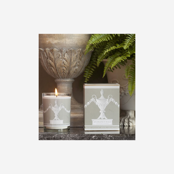 Irish country house collection scented candle entrance hall