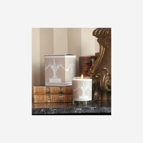 Irish Country House Collection Scented Candle – Library
