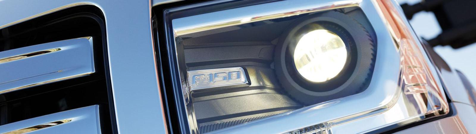 Ford pickup headlights for upgraded visibility at nighttime