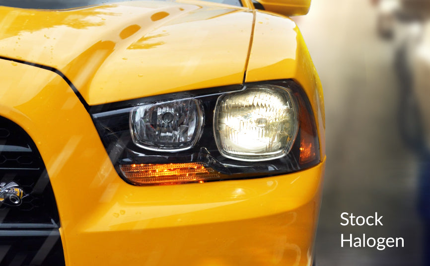 Factory halogen headlights vs hids