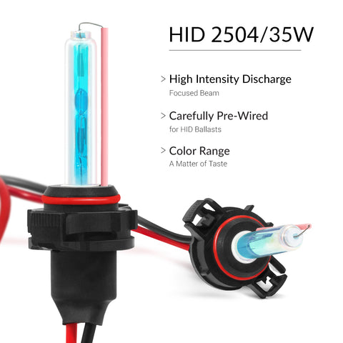 HID Kit with super bright hids of the 2504 bulb size