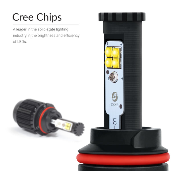 Cree LED chips made in the USA for your visibility at night