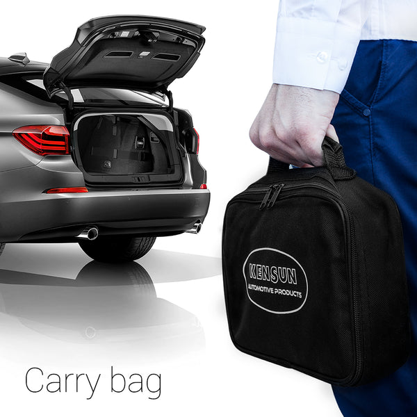 Carry bag can be used as case to transport and store the compressor