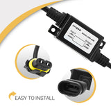 Plug and play connection. Easy installation