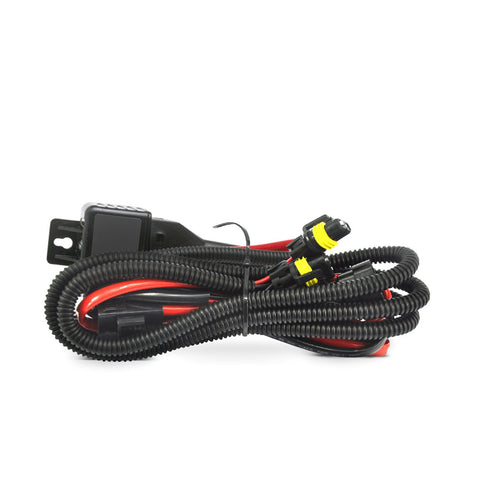 H4Bi XenonRelayHarness_large?v=1511644916 hid headlights relay harnesses kensun kensun 12v/35w/55w wiring harness controller at n-0.co