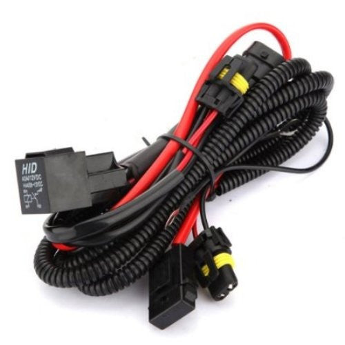 HQ wiring harness that prevents flickering and provides longer lifespan of HID system