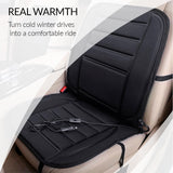 Car seat heater which easy to use and install