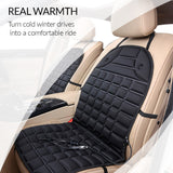 Car seat heater of premium quality