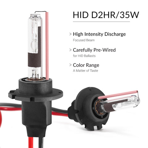 High quality quartz glass used for production of these D2R aftermarket HIDs