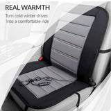 Seat warmer for comfortable driving in cold winter