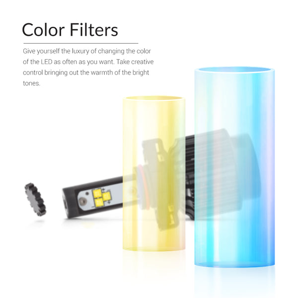 Yellow and blue color filters for your new bright fog lights