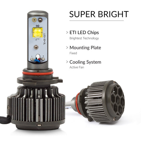New design of the super bright h10 LED lights