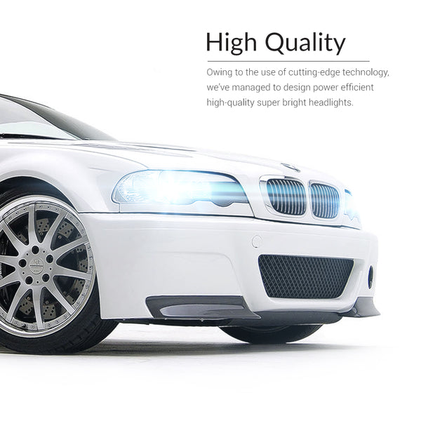 Enjoy the h4 led light headlights of premium quality