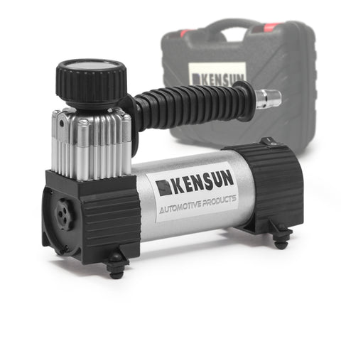 Portable air compressor with a convenient case