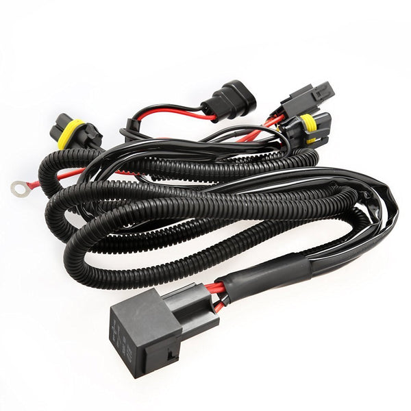 Universal wiring harness kit for 55w and 35w sets