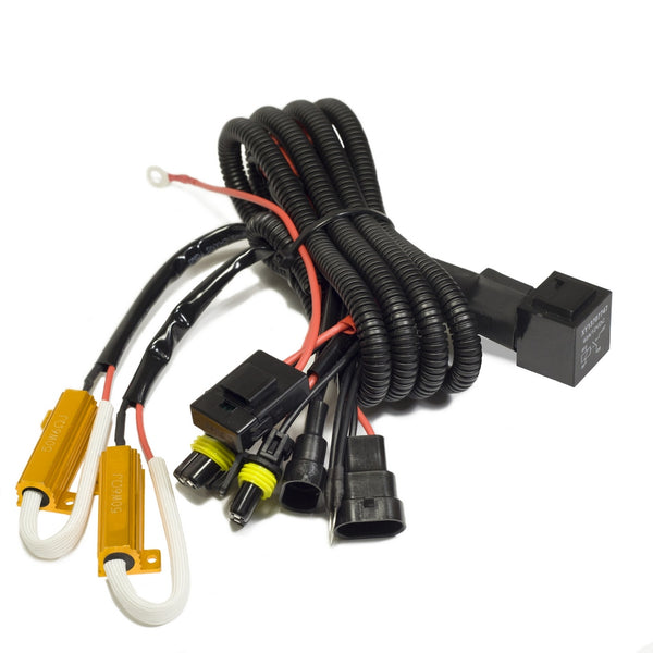 HQ Wiring harnes delivers steady voltage to your HID ballasts