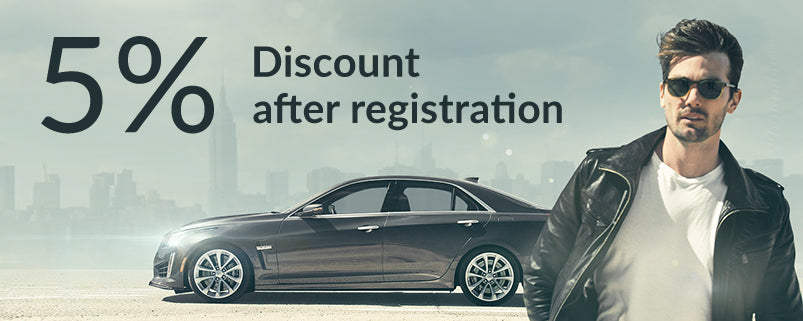 5% Discount after registration