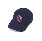 soft cotton monogram baseball hat - 6th + style