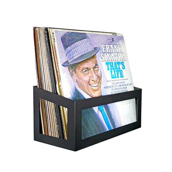 Wall Mount LP Record Album Storage