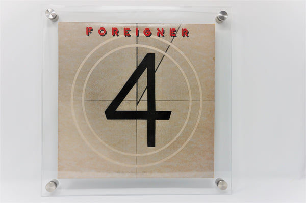 Vinyl LP Record Album Frame - CLEAR - 15 x 15 for 12 x 12 record album - Ion Acrylics