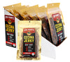 Mexi Cecina Beef Jerky Carne Seca Box Of 16 - 2oz Single Packs - Chile Flavor