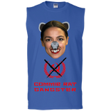 Commie Rat Gangster - Alexandria Ocasio-Cortez - Sleeveless T-Shirt