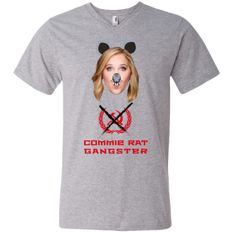 Commie Rat Gangster - Amy Schumer - V-Neck T-Shirt