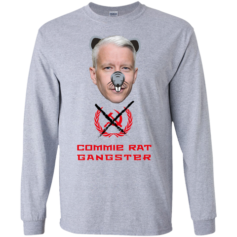 Commie Rat Gangster - Anderson Cooper - LS Ultra Cotton T-Shirt