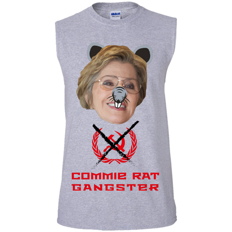 Commie Rat Gangster - Barbara Boxer - Sleeveless T-Shirt