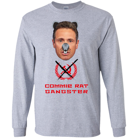 Commie Rat Gangster - Chris Cuomo - LS Ultra Cotton T-Shirt