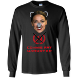 Commie Rat Gangster - Alexandria Ocasio-Cortez - LS Ultra Cotton T-Shirt