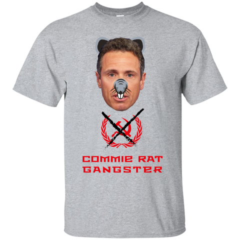Commie Rat Gangster - Chris Cuomo - Ultra Cotton T-Shirt