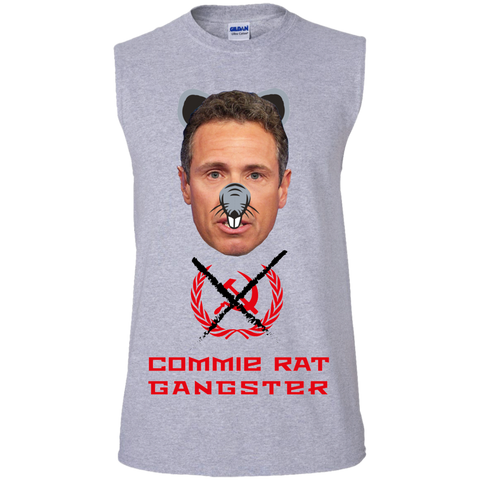 Commie Rat Gangster - Chris Cuomo - Sleeveless T-Shirt