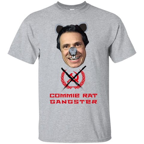 Commie Rat Gangster - Andrew Cuomo - Ultra Cotton T-Shirt
