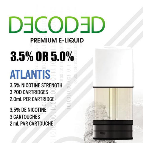 STLTH PREMIUM LABS DECODED ATLANTIS (3PK) (DISCONTINUED)