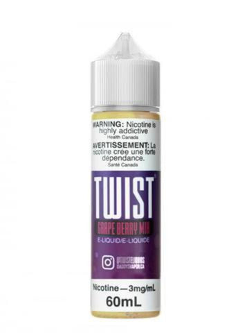TWIST E-LIQUID GRAPE BERRY MIX (60ML)