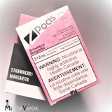 BUY Z-PODS STRAWBERRY MARGARITA FROM MISTER VAPOR VAPE SHOP STORE GTA TORONTO BURLINGTON PEEL HALTON BEST PRICES IN CANADA
